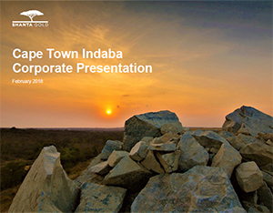 Cape Town Indaba Corporate Presentation